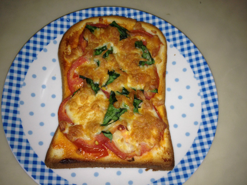瑪格麗特披薩(土司版)