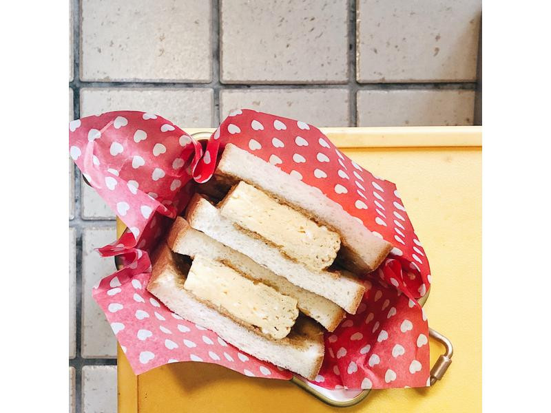 早餐文~厚蛋燒三明治