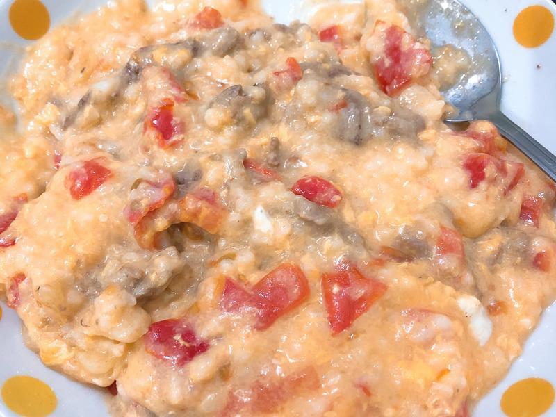 牛肉蒜蕃茄粥