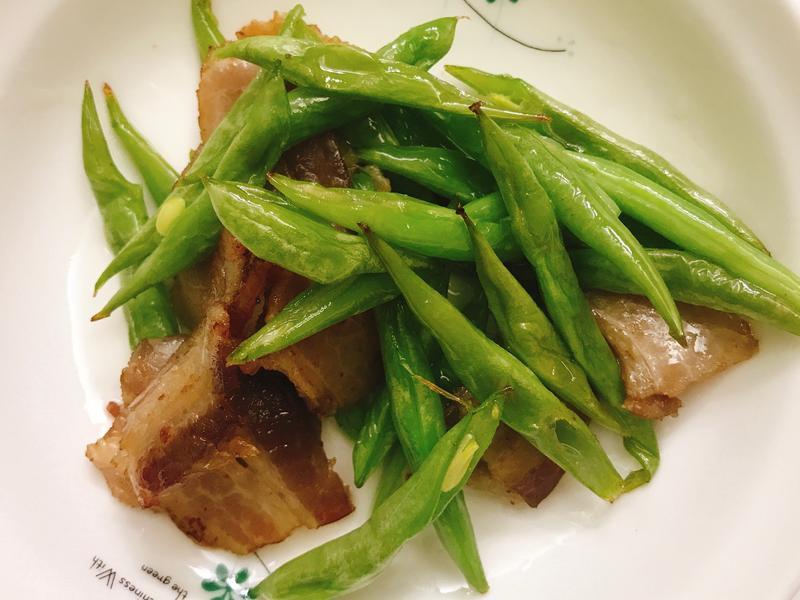 お弁当-190103-培根四季豆