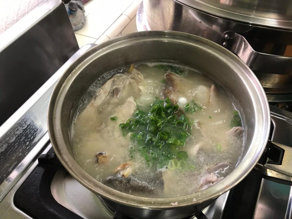 現流紅甘鮮美三吃(1.紅甘味噌湯)