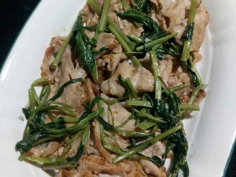 醬燒豬肉片(01.03,四)