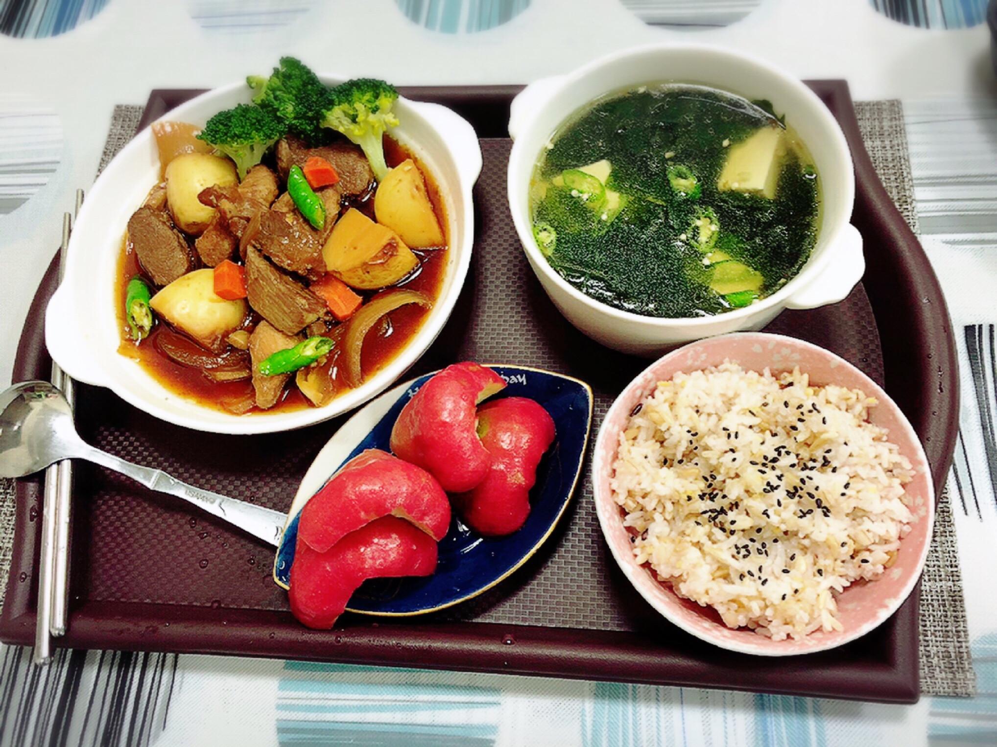 水波爐馬鈴薯燉肉