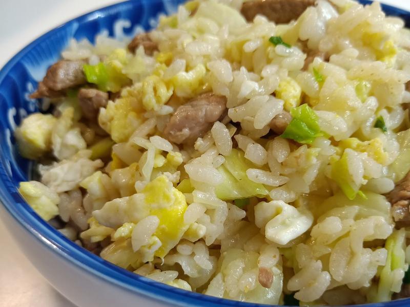 沙茶肉絲蛋炒飯