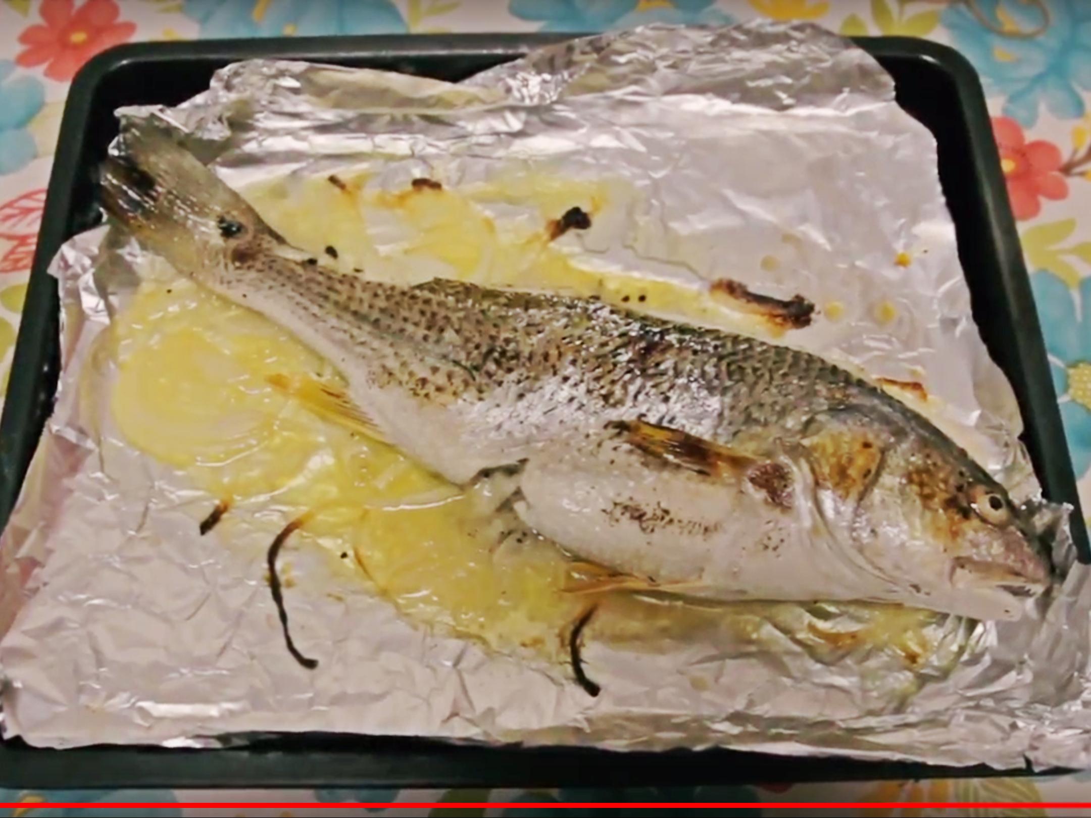 【焗系列】焗鱸魚
