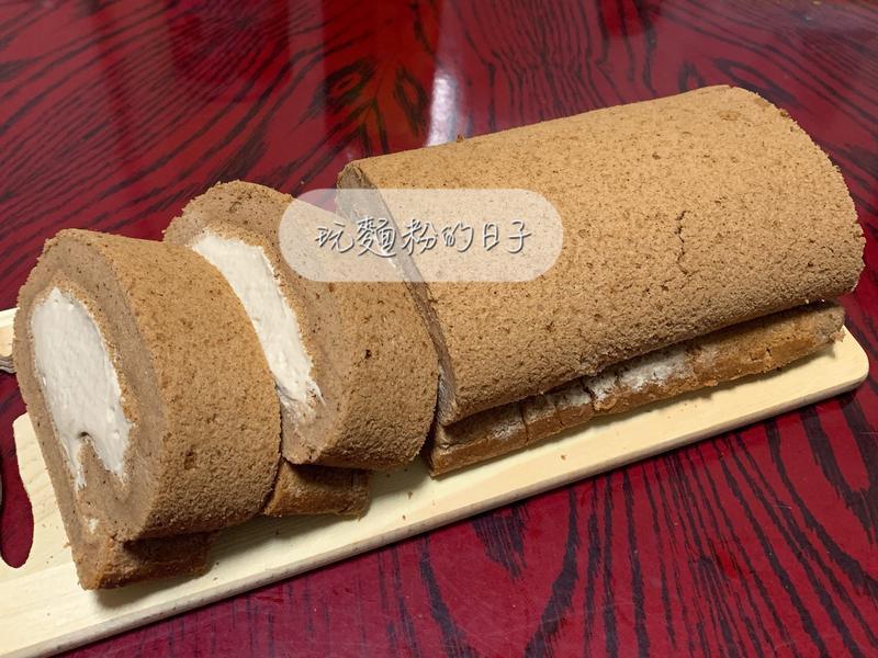 巧克力蛋糕捲(生乳捲)