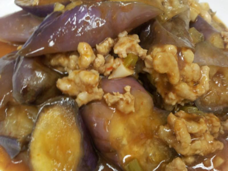 AMC健康烹飪~魚香茄子