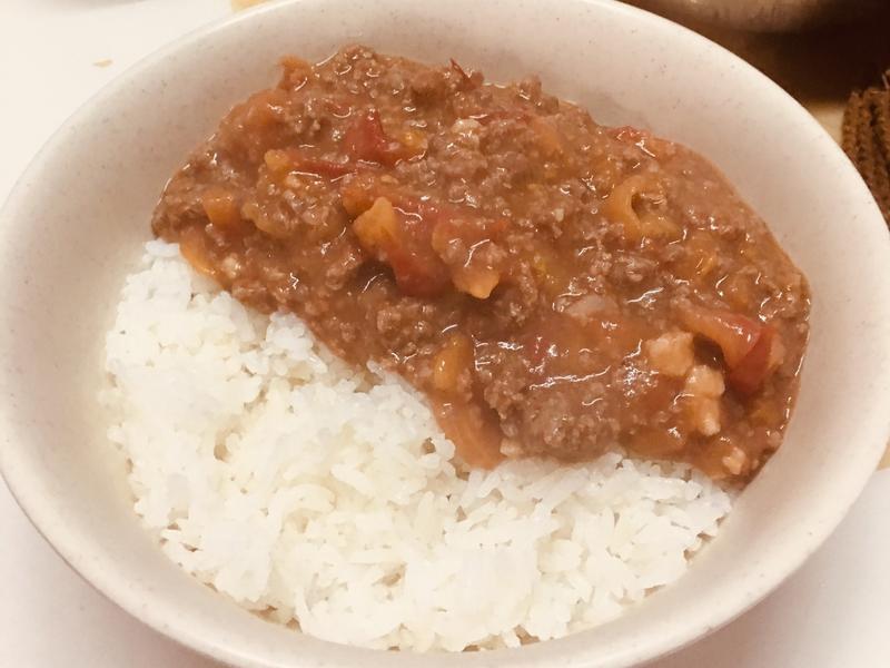 番茄免治牛肉飯