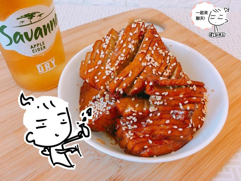 輕麻辣豆干(下酒菜)