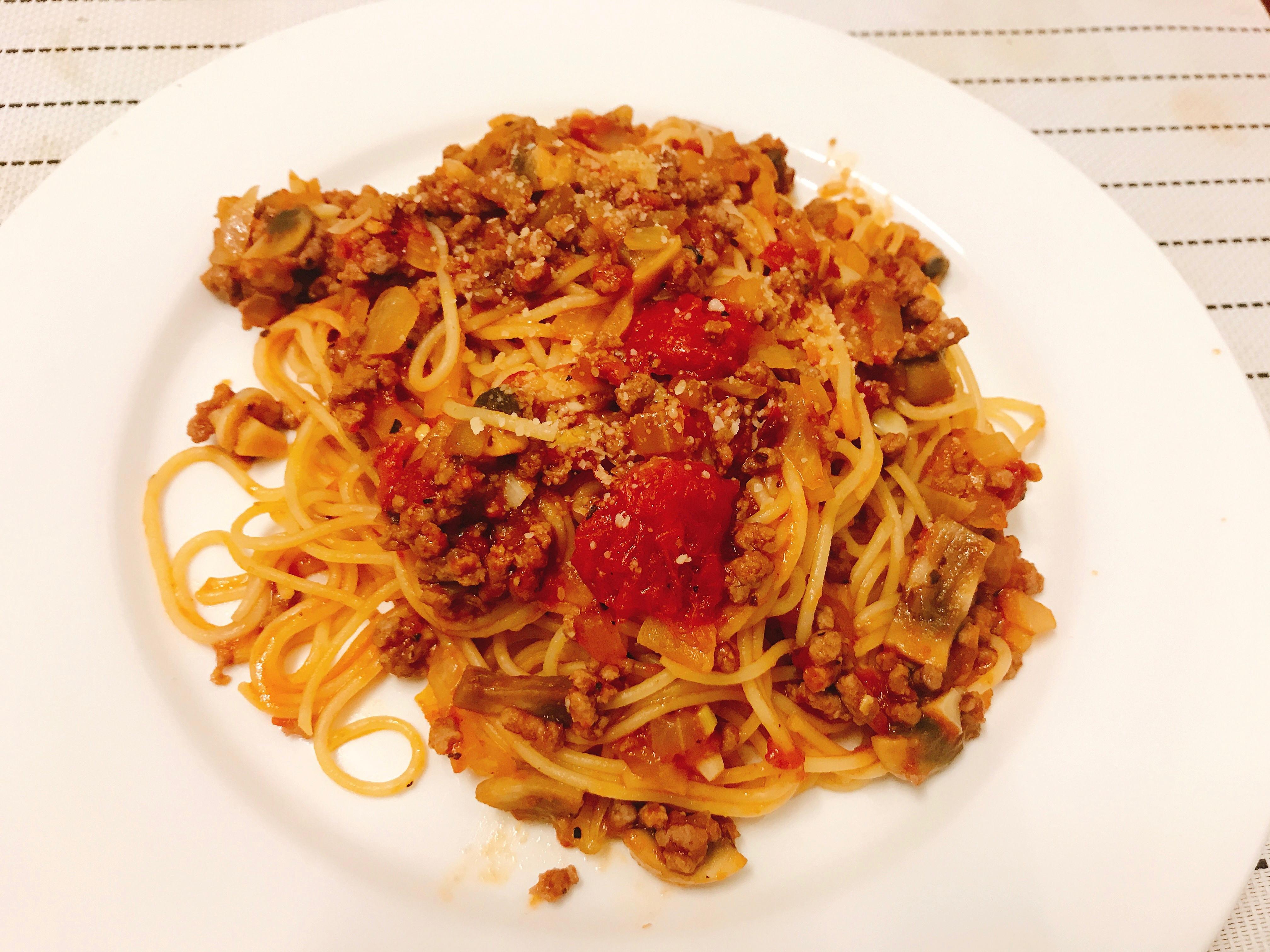 地道番茄肉醬義大利麵