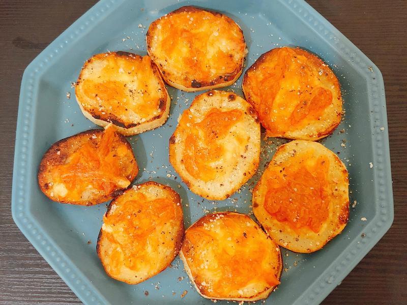 [小烤箱]焗烤馬鈴薯。零廚藝