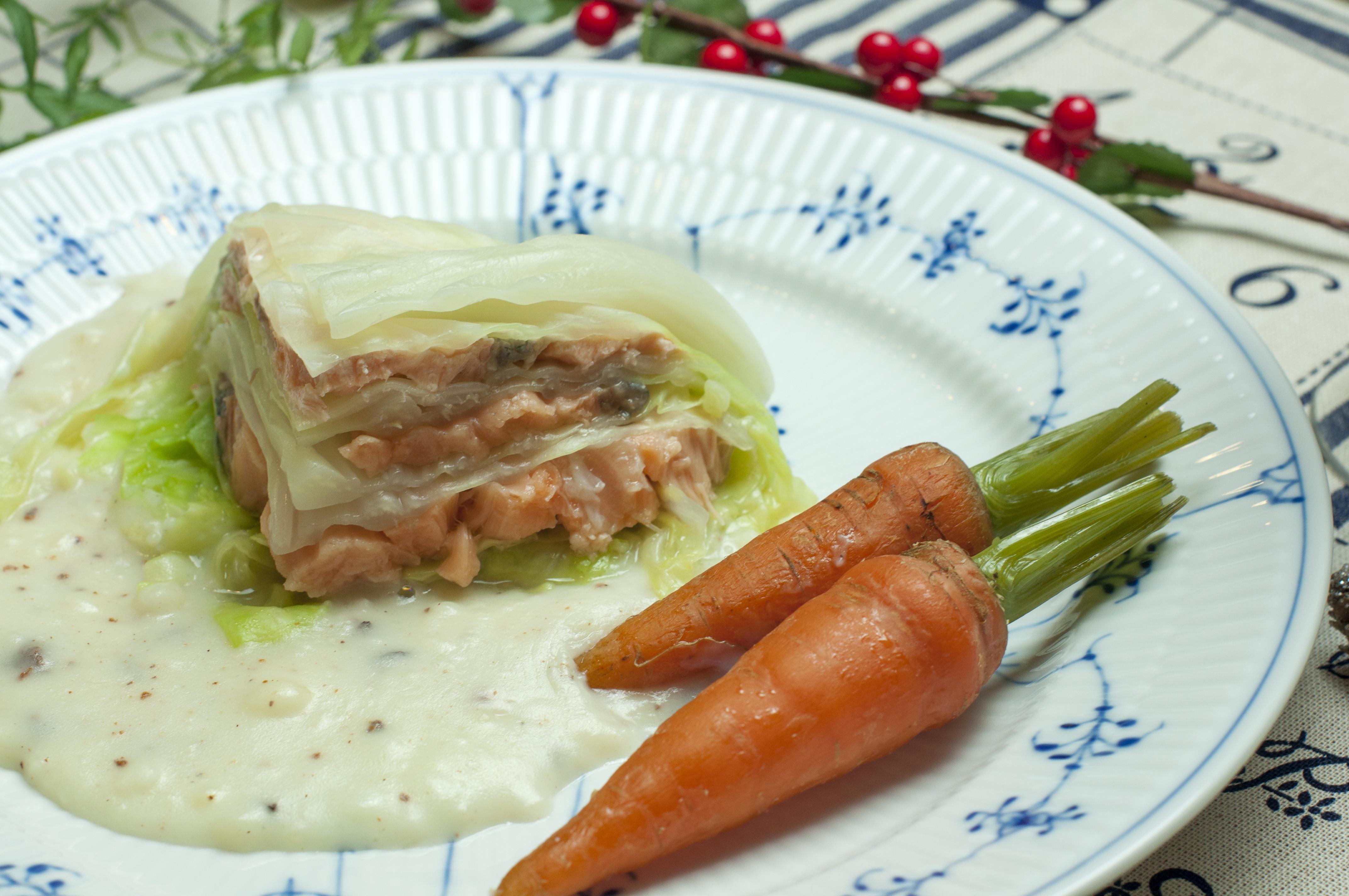法式鮭魚高麗菜捲--電影美食端上桌