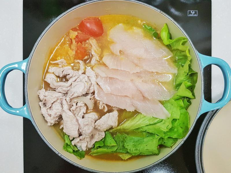 黃金泡菜豆腐鍋