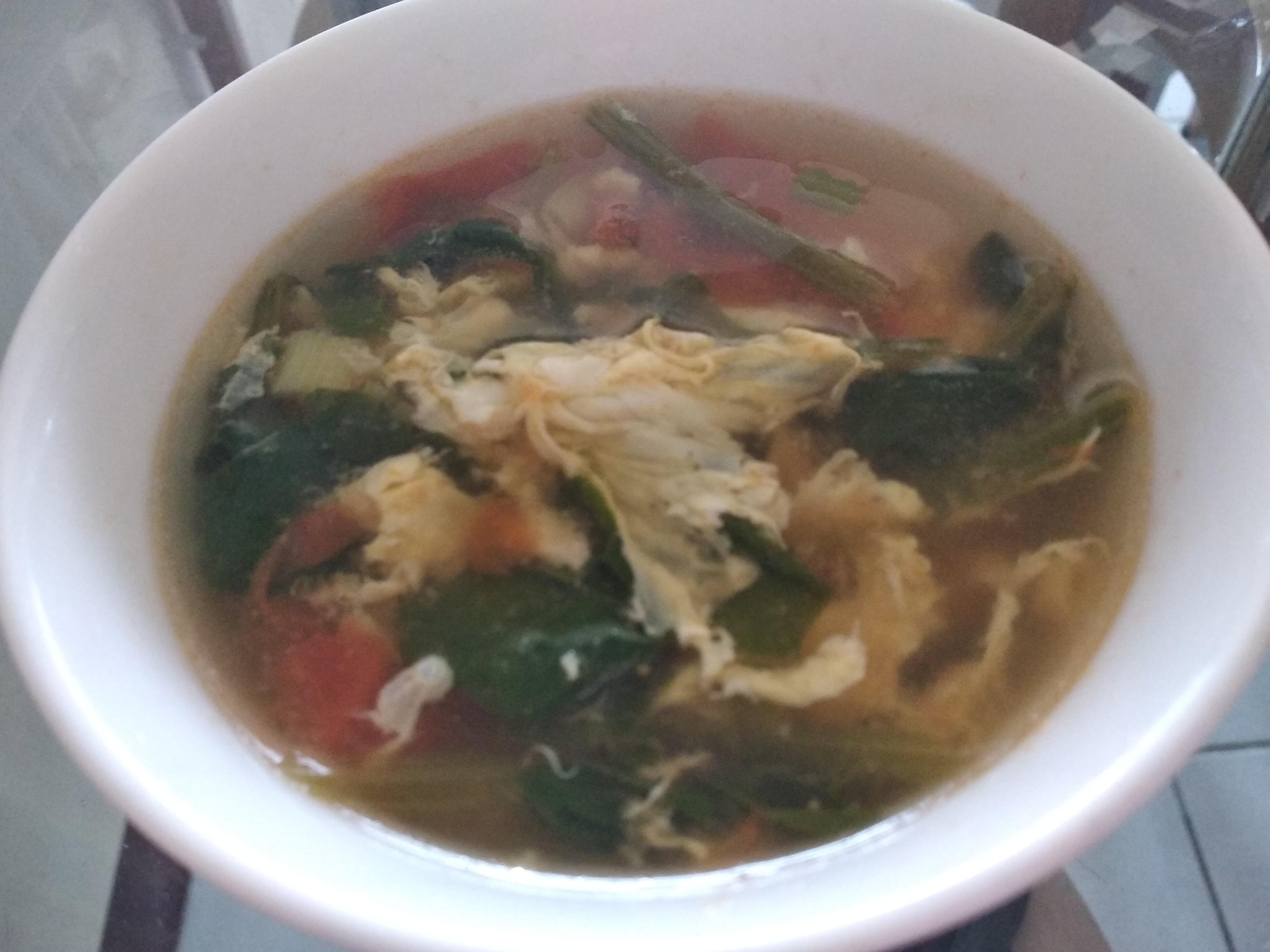 蕃茄波菜湯