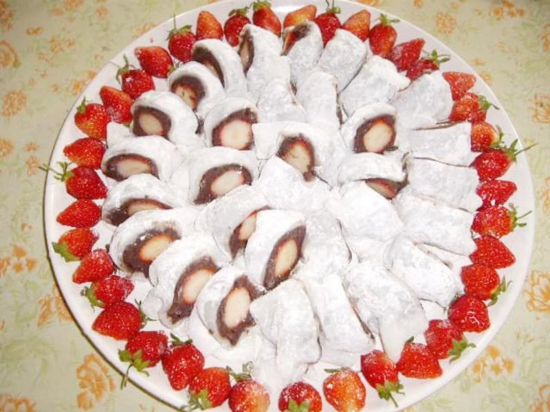 酸甜美味深得我心💛草莓大福🍓*萍姊