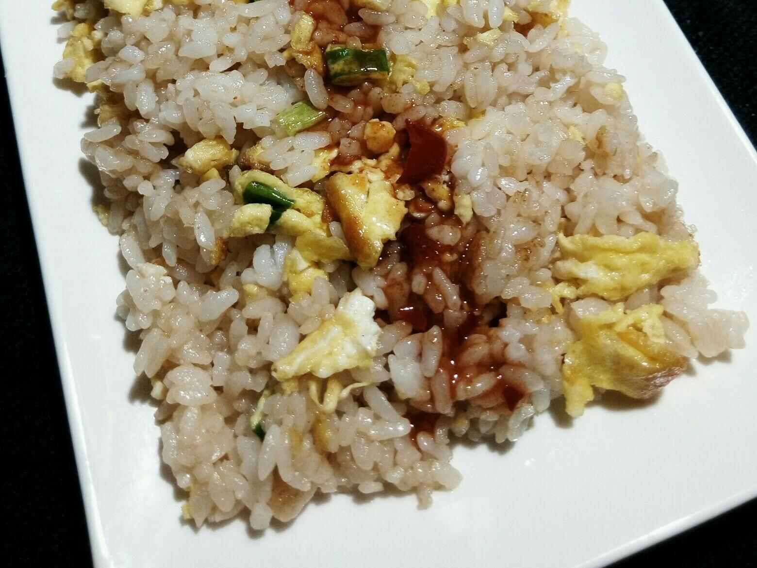 蔥花蛋炒飯(2019.01.08,三)
