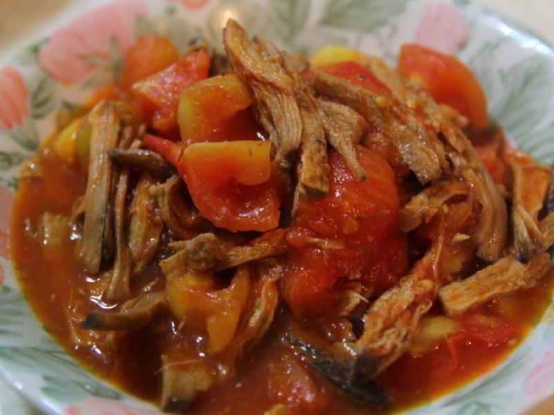 【極簡美食】番茄素羊肉