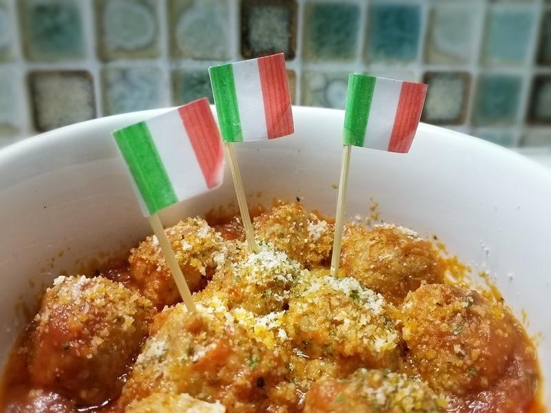 義式茄汁起司燉肉丸~歡樂派對小點心