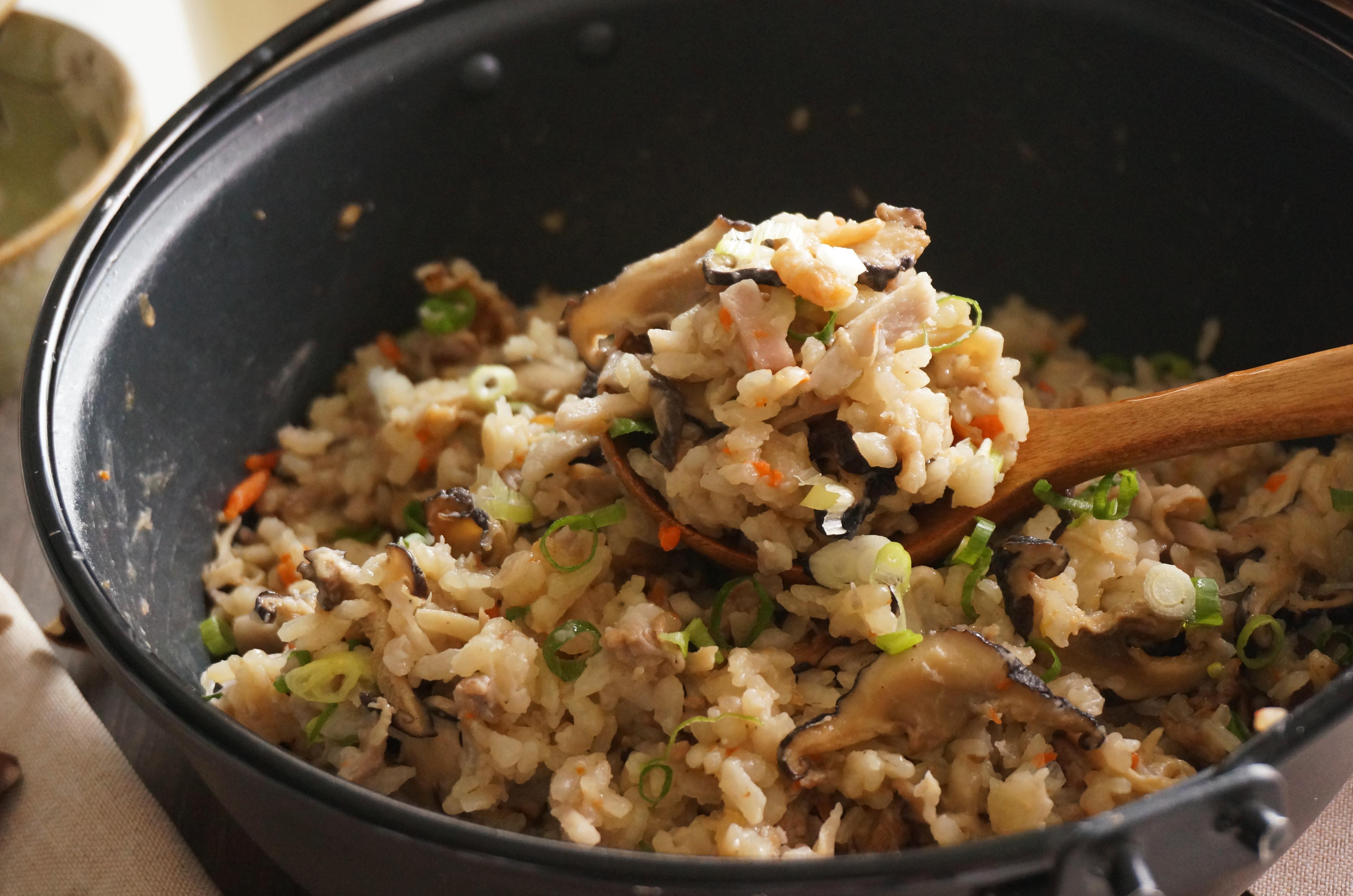 什菇芋香鍋飯