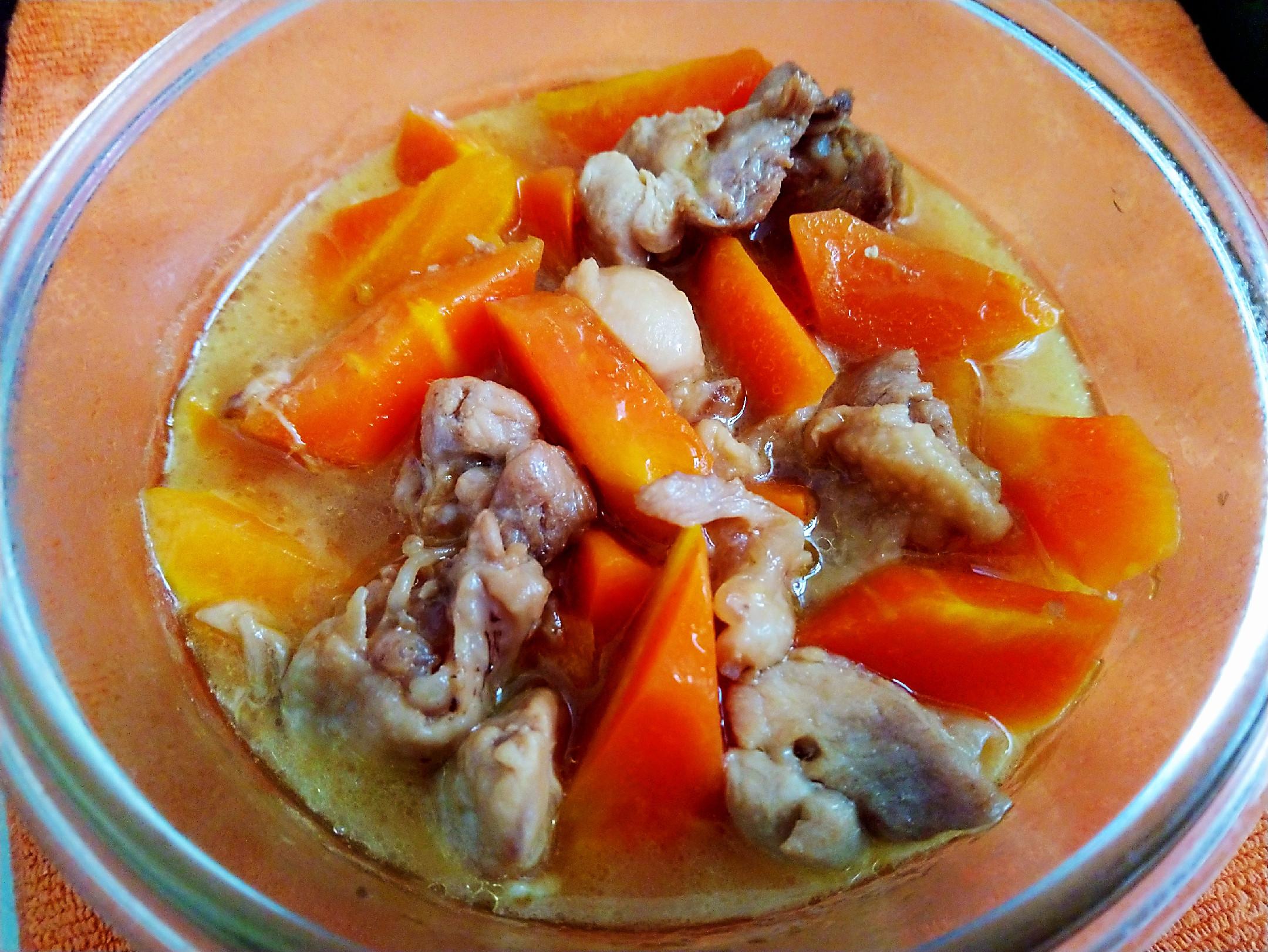 胡蘿蔔燒雞