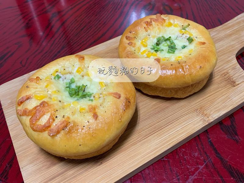 起司玉米南瓜麵包
