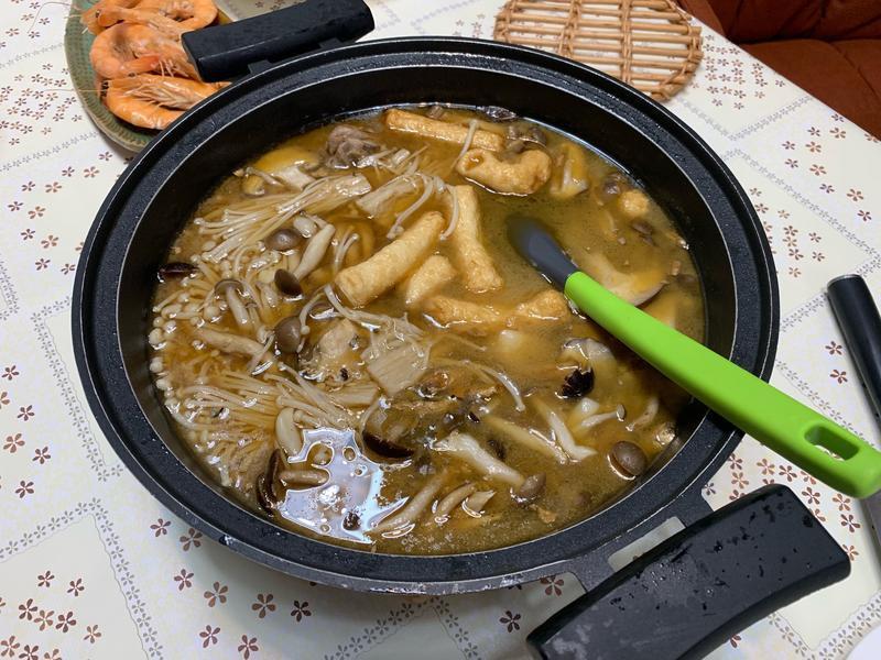 麻油燒酒雞湯