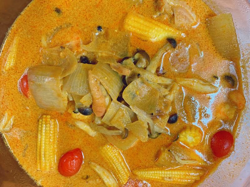 藍象泰式黃咖喱