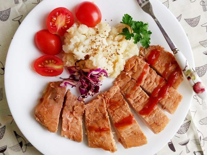 茄薑醬豬排