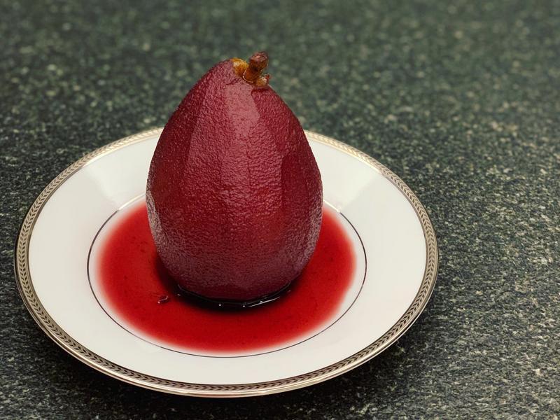 紅酒燉洋梨