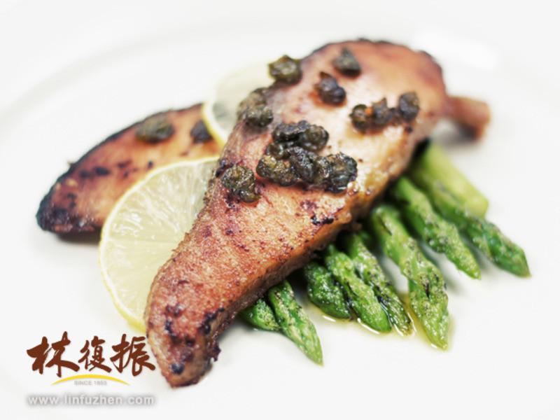 快速酸豆鮭魚排
