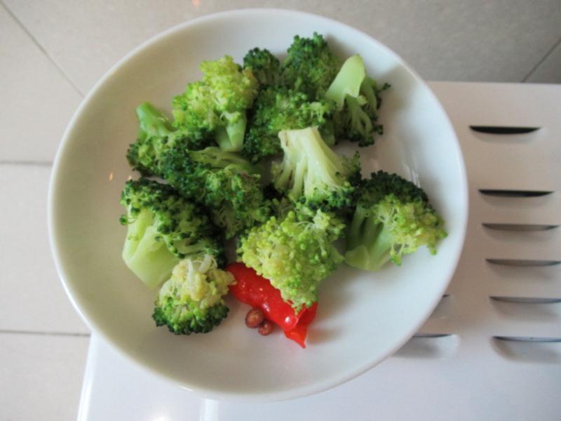 香辣綠花椰菜