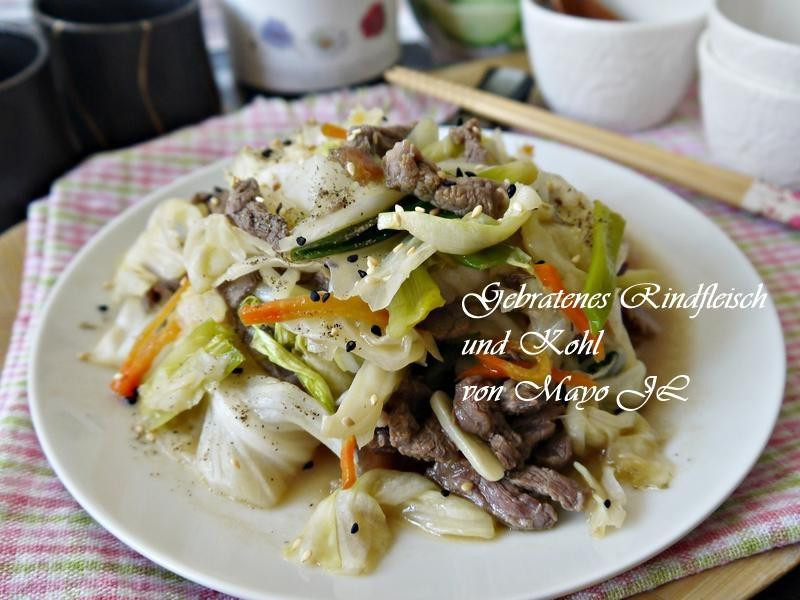 牛肉絲炒高麗菜