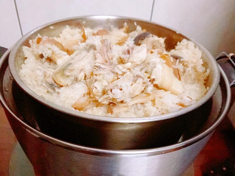 大同電鍋 - 麻油雞米糕