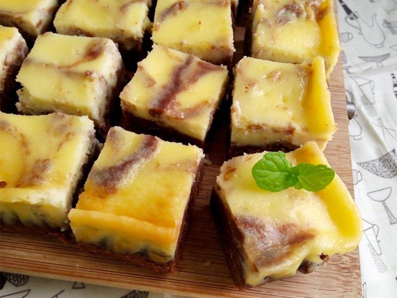重乳酪布朗尼蛋糕♥