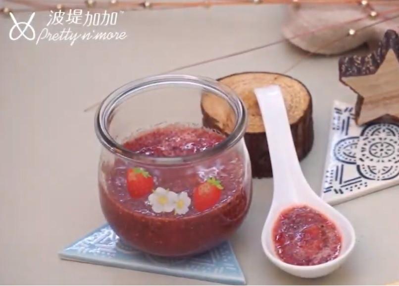 奇亞籽草莓果醬