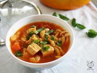 番茄蔬菜雞肉湯