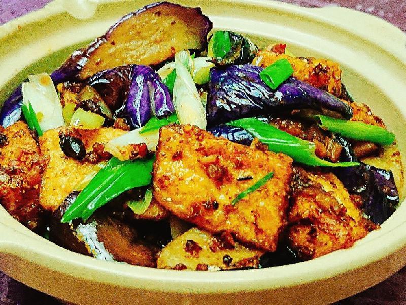 茄子豆腐煲