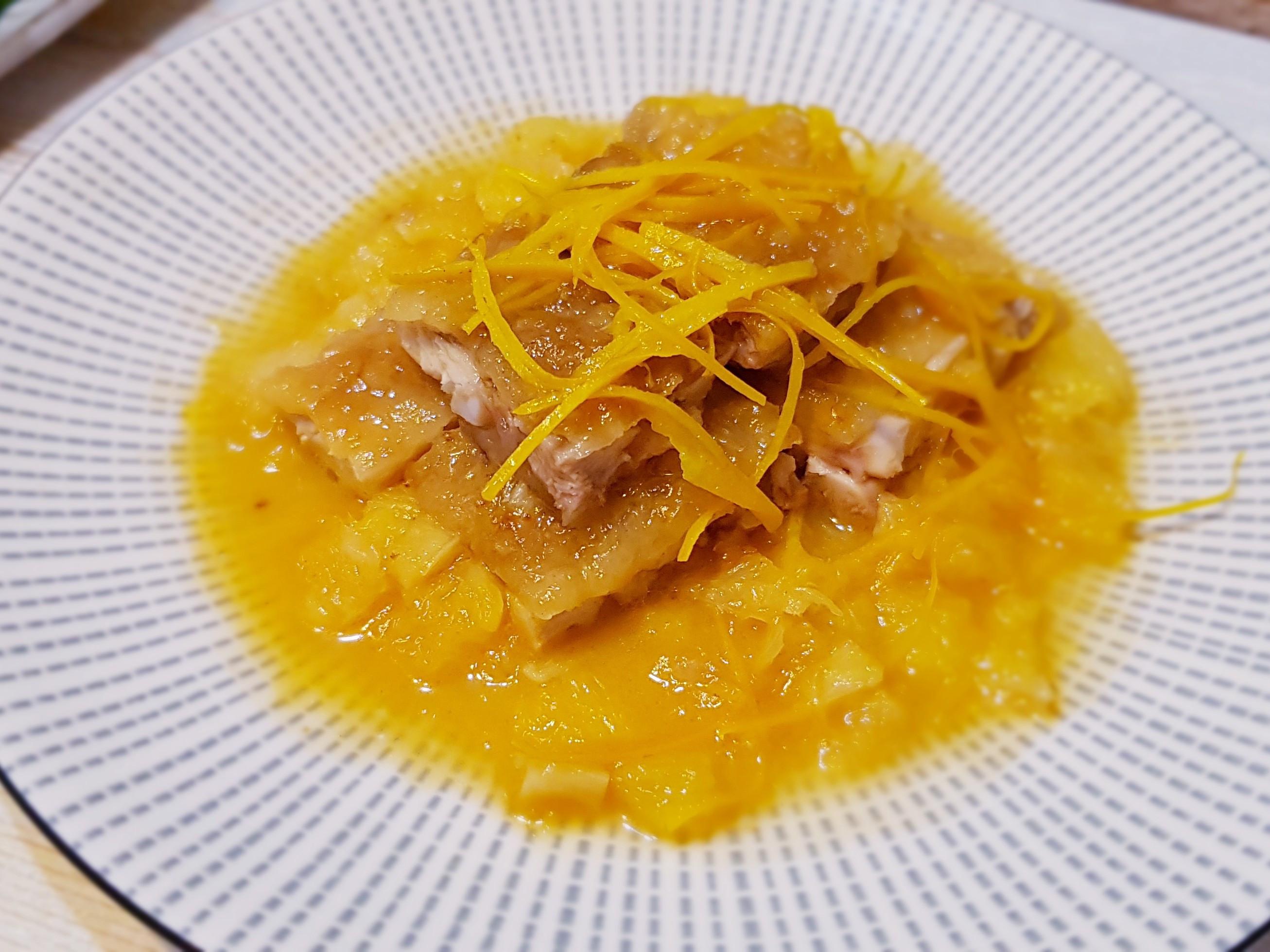 大吉大利橙汁雞腿排