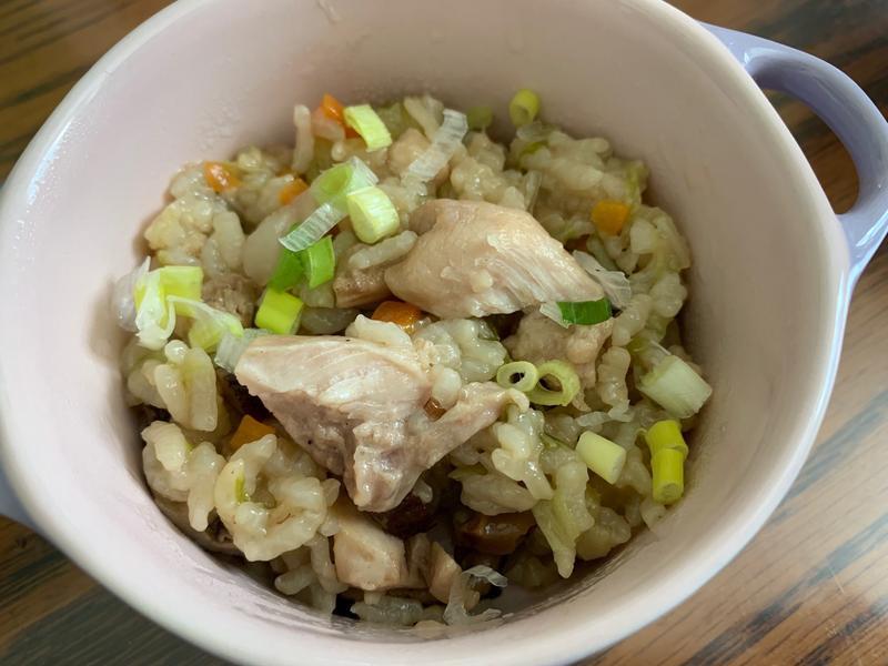 寶寶~香菇蔬菜雞肉燉飯