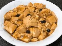 黑豆鼓燴豆腐~全素