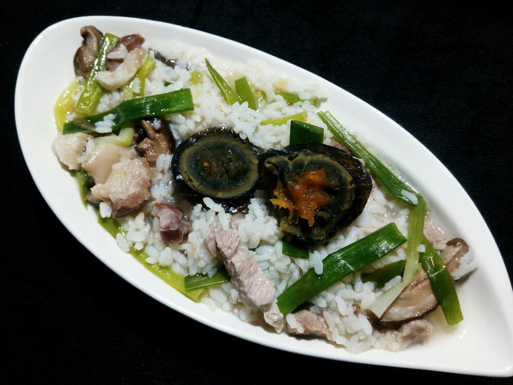 皮蛋瘦肉粥(01.15,二)