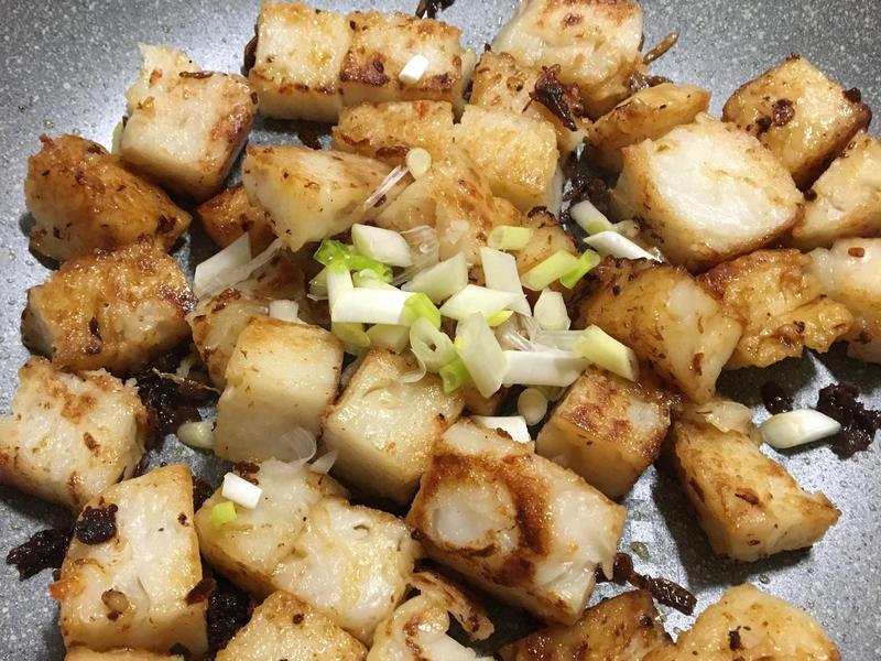 蝦醬炒粿仔