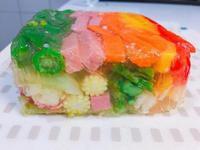 派對彩虹蔬菜凍