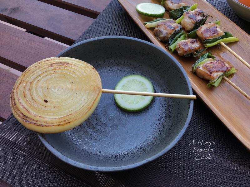 露營趣_深夜食堂青蔥雞肉串&洋蔥串