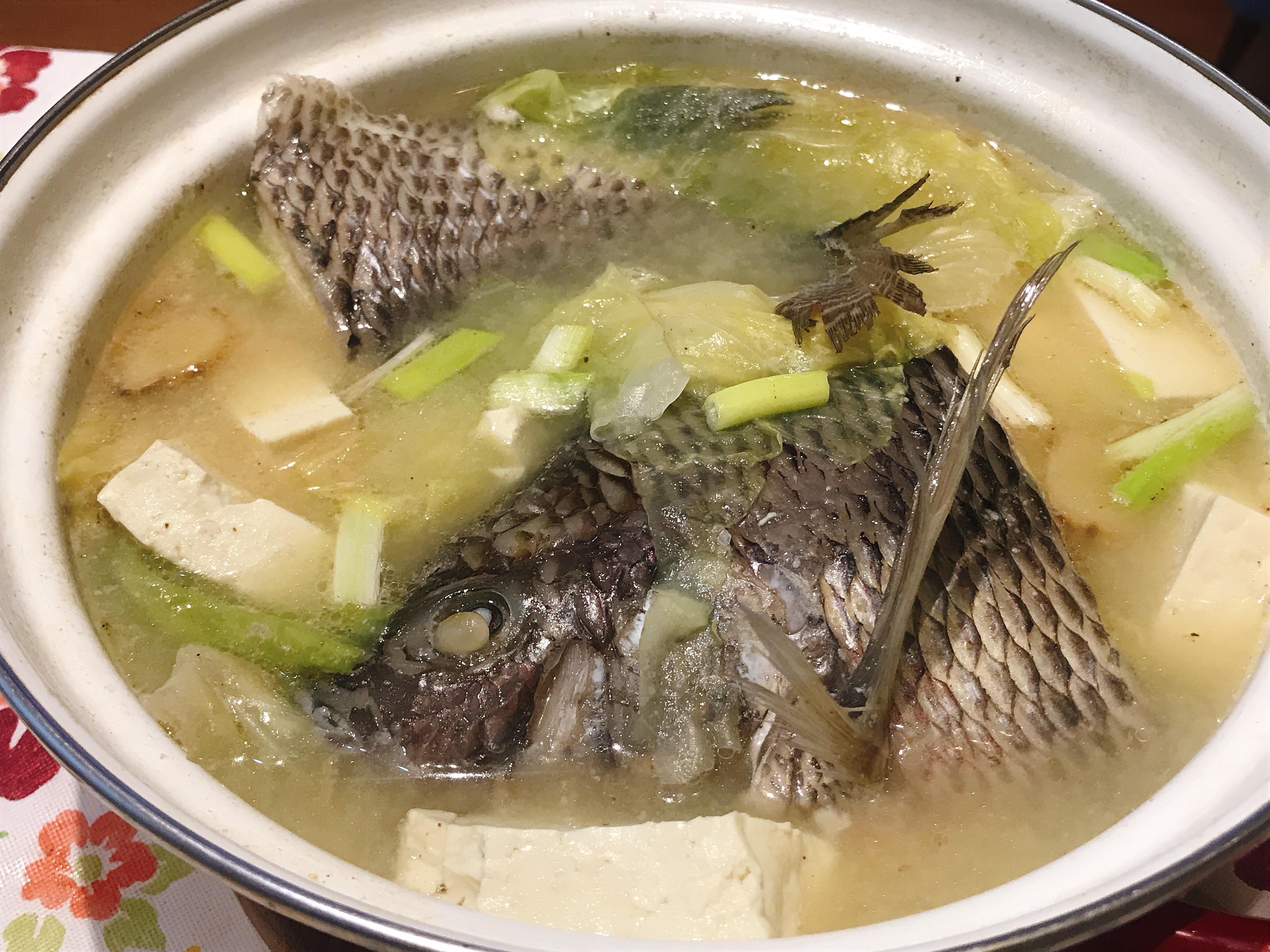 吳郭魚味噌湯