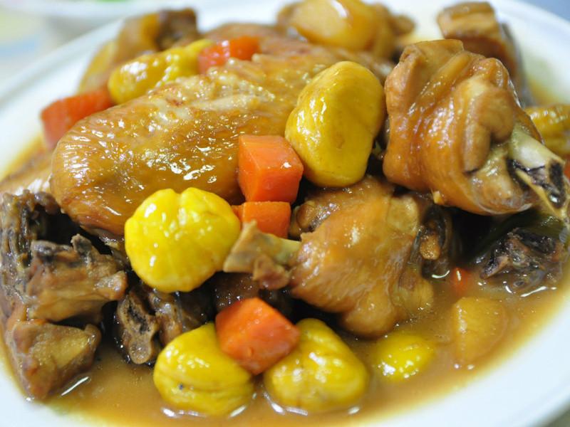 台啤(香芒口味)栗子悶雞
