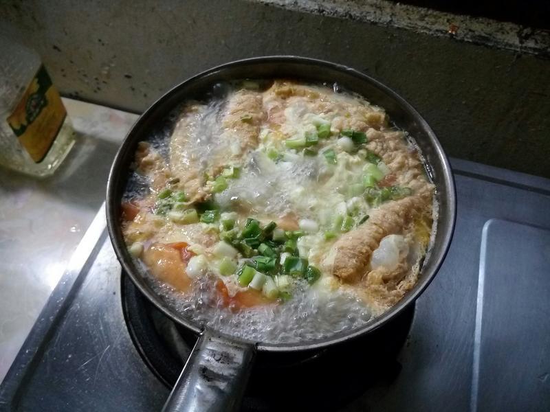 番茄豆腐雞湯