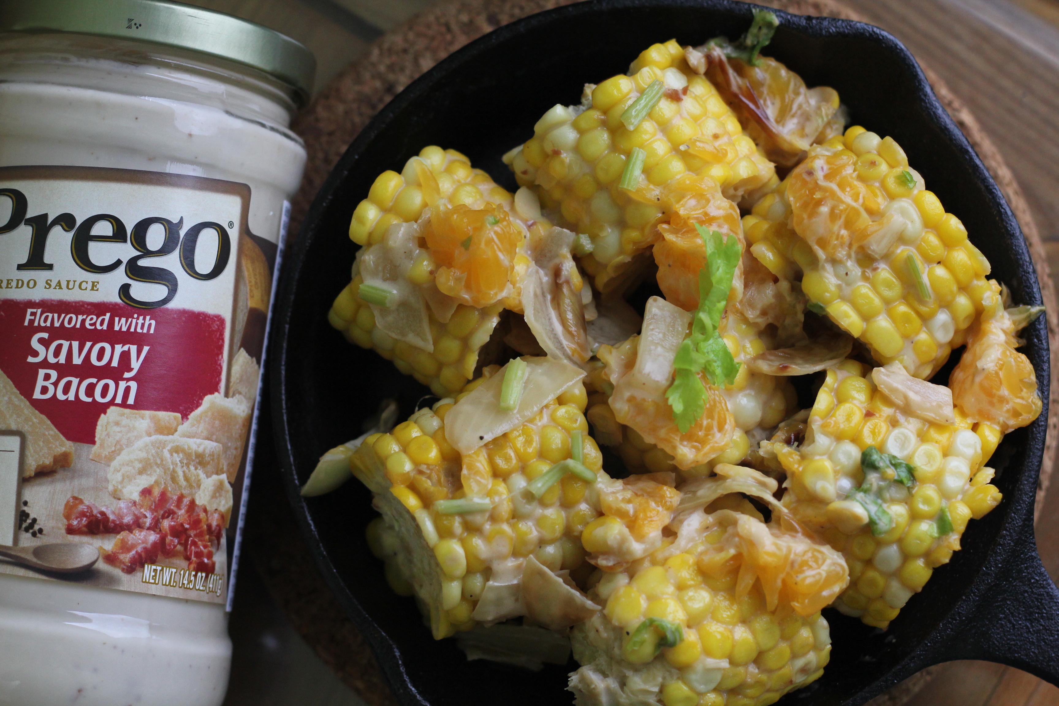 白醬水果玉米