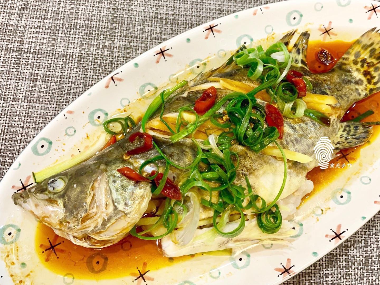 清蒸魚《桂花魚》