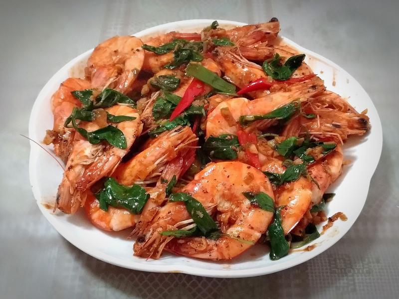 沙茶胡椒蝦